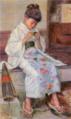 ShiratakiIkunosuke-1895-Knitting Girl.png