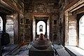 Shiva linga inside Pandra Shivalaya -Pashupatinath Temple-1898.jpg