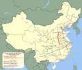 Shiwu nagysebességű vasútvonal térképvázlata.png