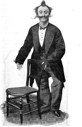 "Dan Leno - ""the Shopwalker"", 1891"