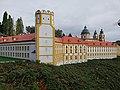 Side view of Schonbrunn, Austria at Mini Europe.jpg