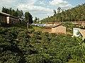 Side view on school field and toilet - Vue de coté sur le champ de l'école et les toilettes (4370847106).jpg