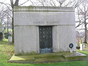 Sidney Hillman - The mausoleum of Sidney Hillman in Westchester Hills Cemetery.