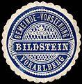 Siegelmarke Gemeinde-Vorstehung Bildstein - Vorarlberg W0261550.jpg