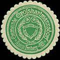 Siegelmarke Gemeinde Grosshartmannsdorf Amtsh. Freiberg W0314512.jpg