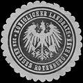 Siegelmarke K. Landrath des Kreises Rotenburg in Hannover W0386027.jpg