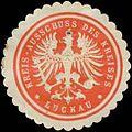 Siegelmarke Kreis-Ausschuss des Kreises Luckau W0342444.jpg
