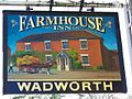 Sign for the Farmhouse Inn - geograph.org.uk - 1587466.jpg