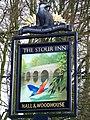 Sign for the Stour Inn - geograph.org.uk - 1174242.jpg