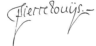 Pierre Louÿs - Image: Signature Pierre Louÿs 1898