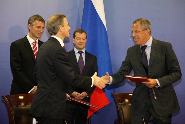 Signing of the Russian-Norwegian Treaty on Maritime Delimitation and Cooperation in the Barents Sea and the Arctic Ocean..jpeg