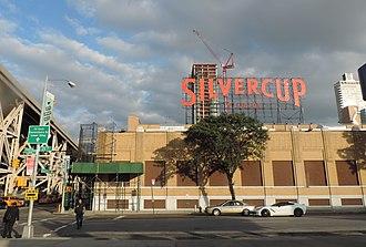 Silvercup Studios - Street entrance