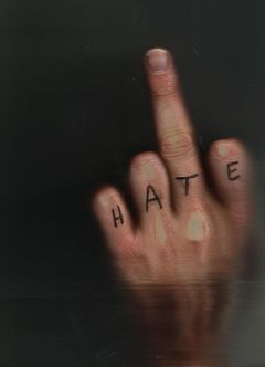 "Sincere ""Hate"" message"
