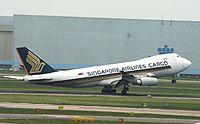 9V-SFO - B744 - Singapore Airlines
