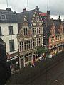 Sint-Veerleplein 12, 13, poortje en hoekhuis Kraanlei 1 (Bovenaanzicht) - Gent.jpg