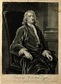 Sir Isaac Newton. Mezzotint by J. Faber, junior, 1726, after Wellcome V0004265.jpg
