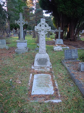 James Galloway (physician) - Galloway's grave in Brookwood Cemetery