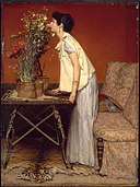 Sir Lawrence Alma-Tadema - Woman and Flowers - 41.117 - Museum of Fine Arts.jpg