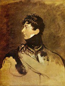 Georg IV. als Prinzregent, 1815, Gemälde von Thomas Lawrence (Quelle: Wikimedia)