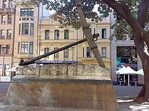 Macquarie Place Park - Image: Siriusanchor