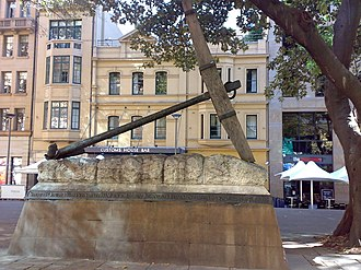 Macquarie Place Park - Image: Siriusanchor