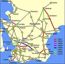 tåg sverige karta