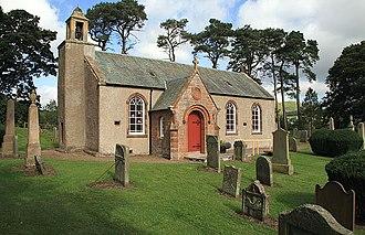William Hanna (minister) - Skirling Parish Church