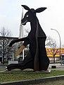 Skulptur Buckower Damm (Britz) Esel&Eckhart Haisch&1985.jpg