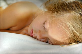 Sleep - Sleep is associated with a state of muscle relaxation and reduced perception of environmental stimuli.