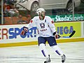 Slovenia VS USA at the IIHF World Hockey Championship 2008 - Tomaž Razingar.jpg