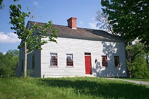 "Ontario County, New York - Home of the Joseph Smith, Sr. family in Manchester, known as the ""frame home""."
