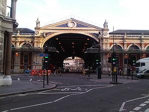 Charterhouse Street - Smithfield Market from Charterhouse Street