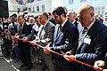 Snoren klippes til den officielle åbning af moskéen i Allehelgensgade (41313278574).jpg