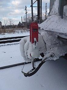Px Snowyendoftraindeviceboltonon on Air Pressure Sensor