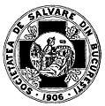 Societatea de Salvare din Bucureşti, 1906 emblem.JPG