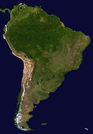 185px South America satellite plane