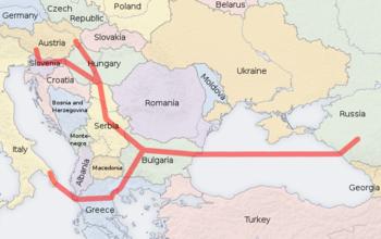 """Как стало известно строительство российского газопровода  """"Южный поток """" по дну Черного моря начнется через месяц и..."""