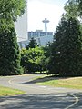 Space Needle in distance along Elliot Bay Trail (7967357612).jpg