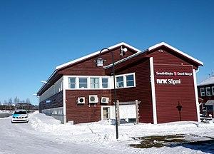 NRK Sápmi - NRK Sápmi's Guovdageaidnu (Kautokeino) office
