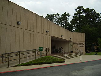 Harris County Public Library - Spring Branch Memorial Library in Hedwig Village