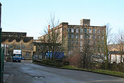 Spring Gardens Mill, Colne, Lancashire - geograph.org.uk - 338255.jpg