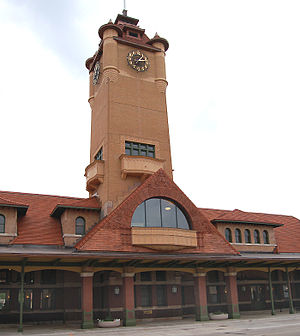 Springfield Union Station (Illinois) - Image: Springfield Union Station 0454w