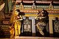 Sri Mahamariamman Temple, Kuala Lumpur. Gopuram from the East. Sculpture. 2019-12-10 22-09-16.jpg
