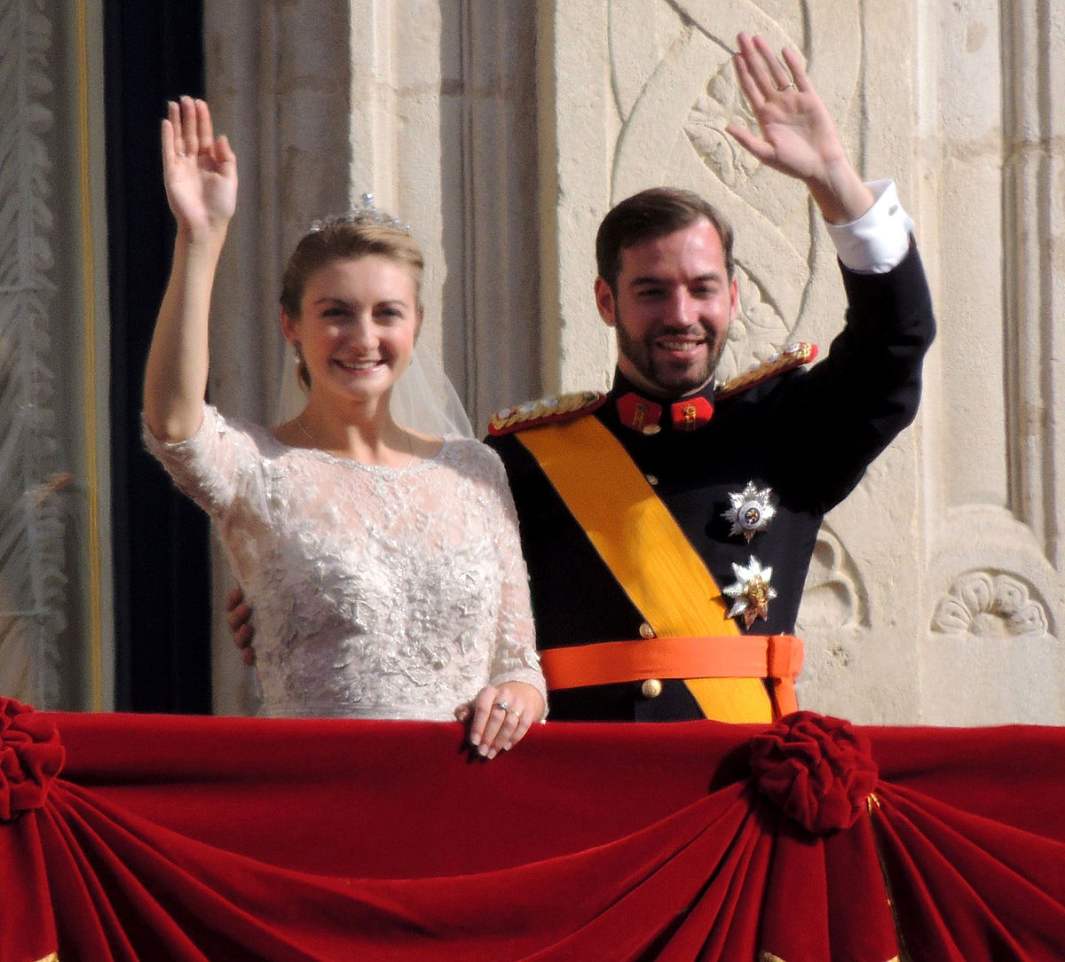 Wedding Of Guillaume Hereditary Grand Duke Luxembourg And Countess Stephanie De Lannoy
