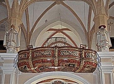 St.Lambrecht Stiftskirche Westempore.jpg