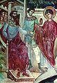 St. George before Diocletianus (Ubisi mural).JPG