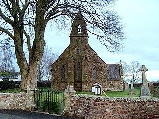 Hethersgill village in the United Kingdom