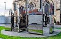 St Andrew's Cathedral Italian Cloister Garden, Glasgow, Scotland 02.jpg