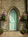 St John the Baptist, Bretherton, Doorway - geograph.org.uk - 1374642.jpg