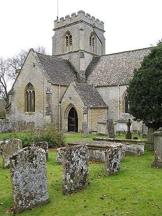 Saint Kenelm - St. Kenelm's, Church, Minster Lovell, Oxfordshire.